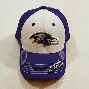 NFL Team Apparel Baltimore Ravens Hat